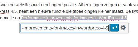 Inline Links WordPress