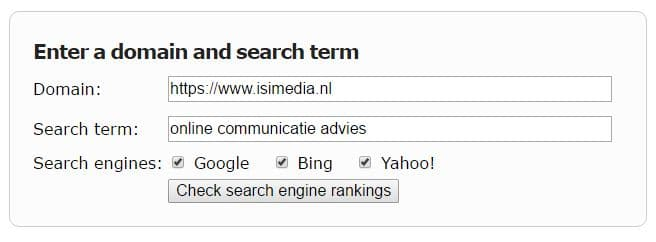 Hoger in Google met deze tool