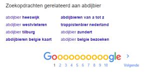 zoekwoorden vinden via google #2