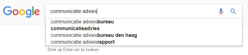 zoekwoorden vinden via google #1