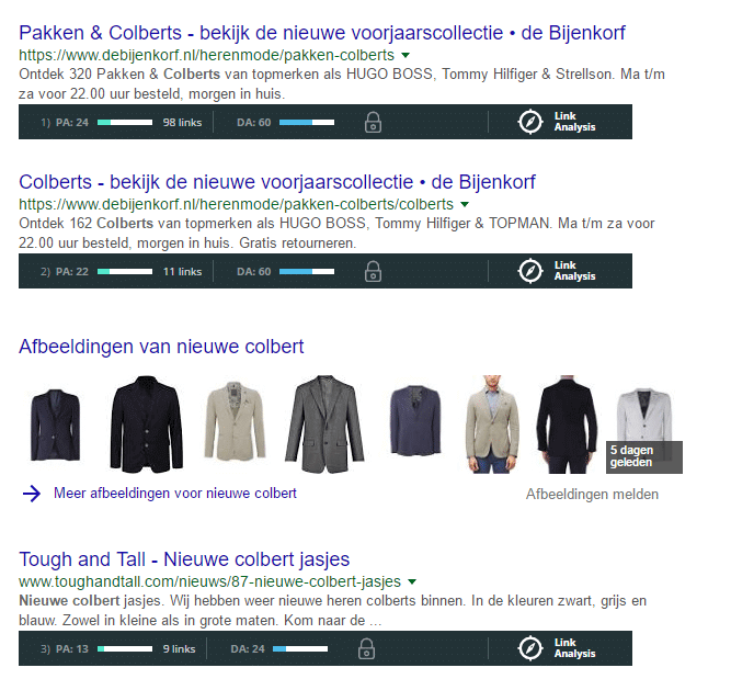 Bovenaan in Google komen met Page Authority and Domain Authority