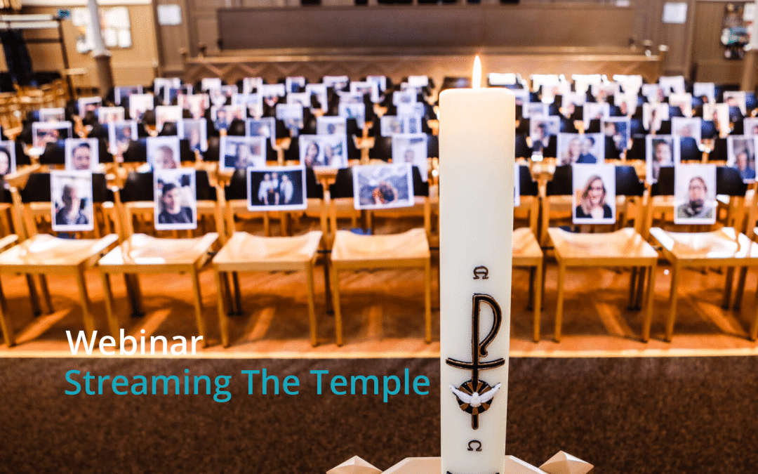 Webinar Streaming The Temple | Online kerkdiensten en vlogs maken
